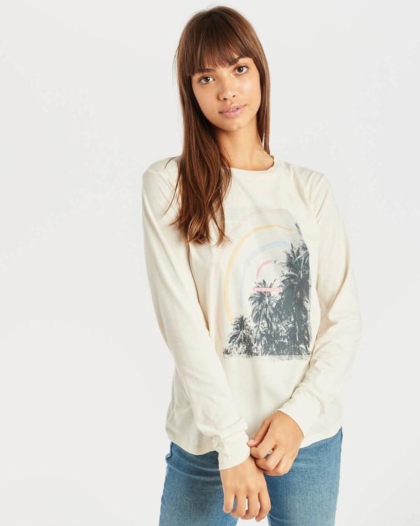 0 High Tide Long Sleeve T-Shirt Beige N3LS01BIP9 Billabong