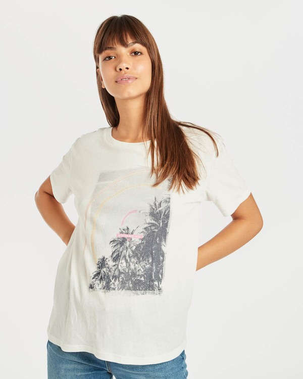 0 Coco T-Shirt Beige N3SS08BIP9 Billabong