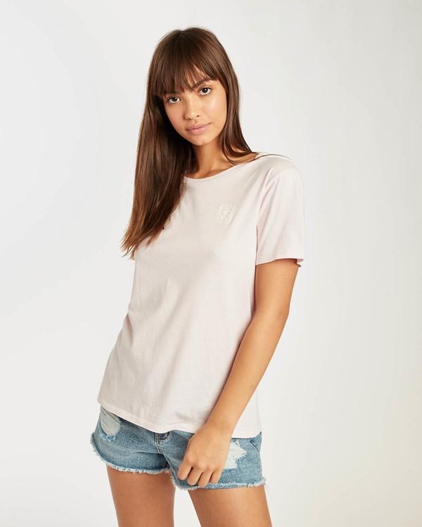 0 Salt Wash T-Shirt Rosa N3SS09BIP9 Billabong