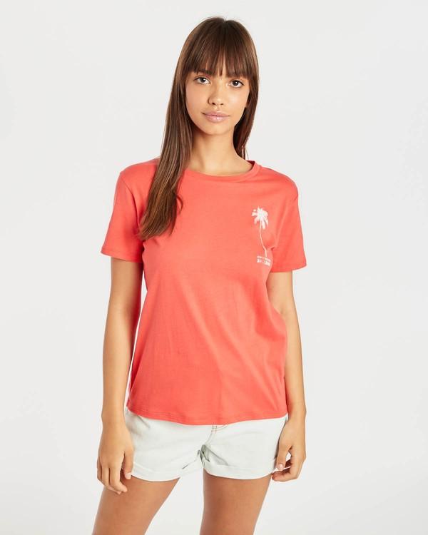 0 Cosmo T-Shirt Rouge N3SS13BIP9 Billabong