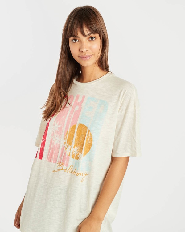 0 True Boy T-Shirt Beige N3SS16BIP9 Billabong