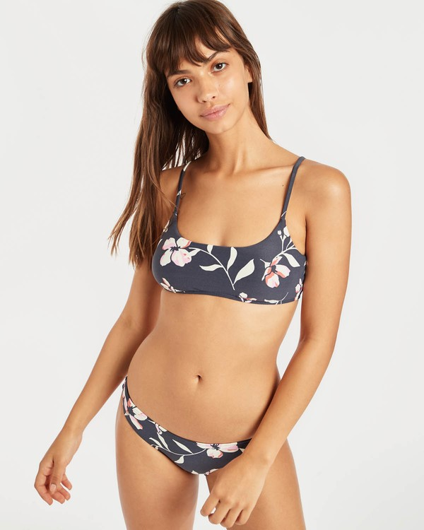 0 Flow On By Mini Crop Bikini Top Negro N3ST42BIP9 Billabong