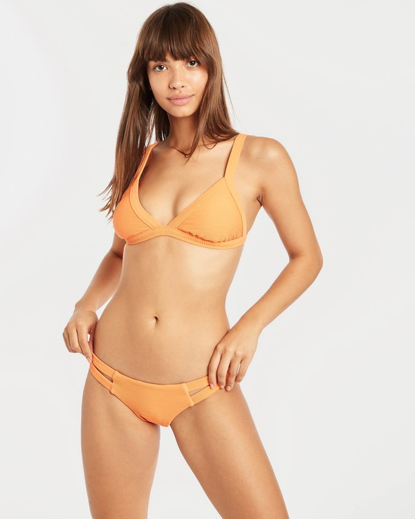 0 Tanlines Fixed Triangle Bikini Top Orange N3ST45BIP9 Billabong