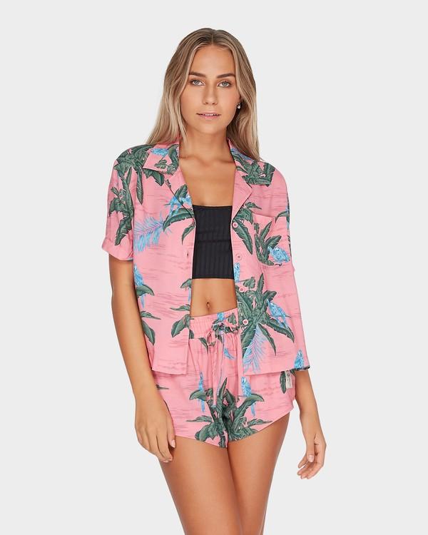 0 Long Island Candybird Shirt Pink N3TP24BIMU Billabong