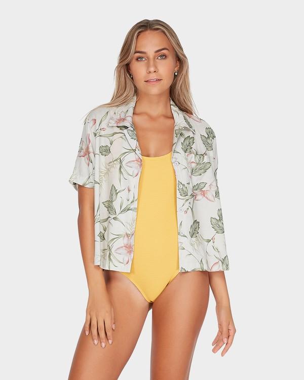 0 Long Island Calypso Shirt Beige N3TP25BIMU Billabong