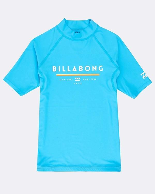 0 Boys' Unity Rashguard Azul N4KY07BIP9 Billabong