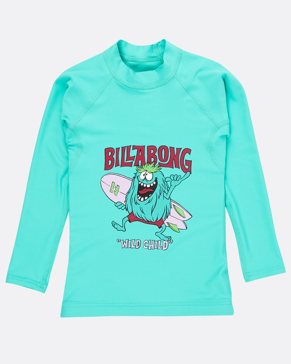 0 Boys Long Sleeve Rashguard Grün N4TY06BIP9 Billabong