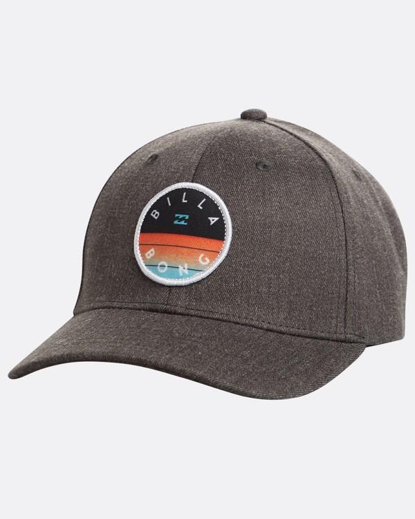 0 Theme Snapback Hat Grey N5CM03BIP9 Billabong