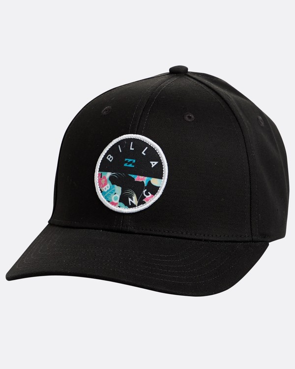 0 Theme Snapback Hat Black N5CM03BIP9 Billabong