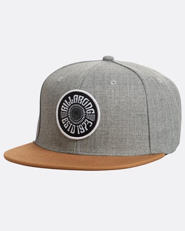 0 Spirit Walker Snapback Hat Grey N5CM04BIP9 Billabong