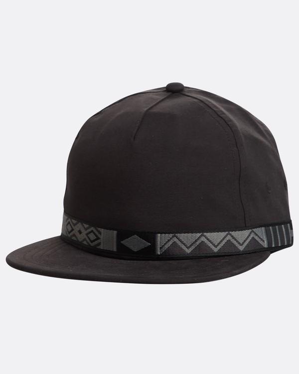 0 Atlas Snapback Hat Noir N5CM06BIP9 Billabong