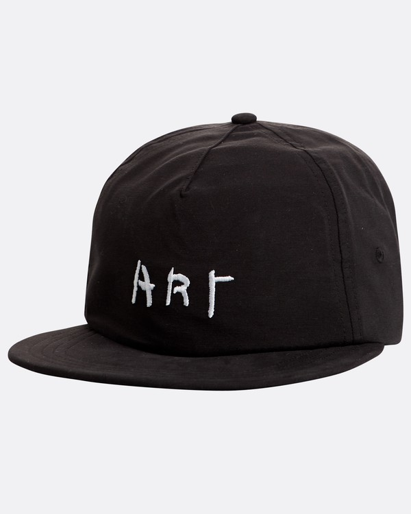 0 Basquiat Art Ladcap Hat Negro N5CM10BIP9 Billabong