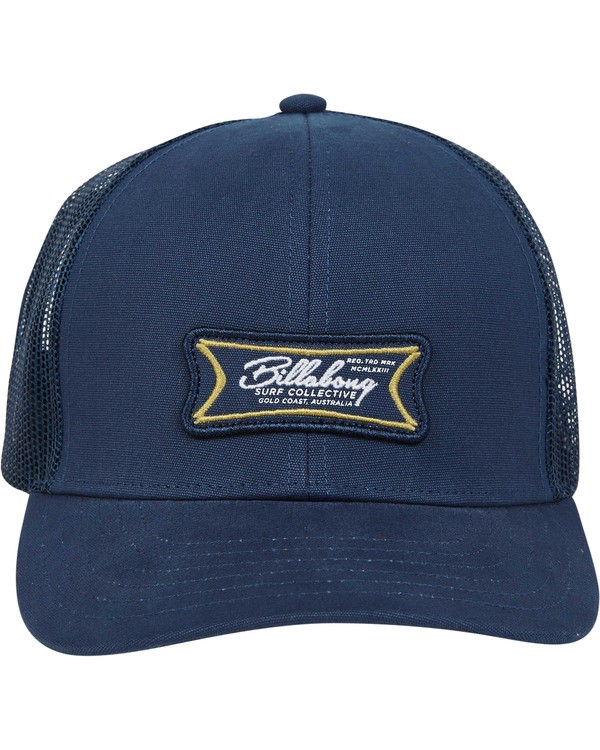 0 Walled Trucker Hat Blau N5CT03BIP9 Billabong