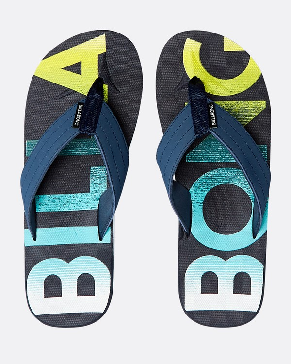 0 All Day Theme Sandals Blau N5FF07BIP9 Billabong