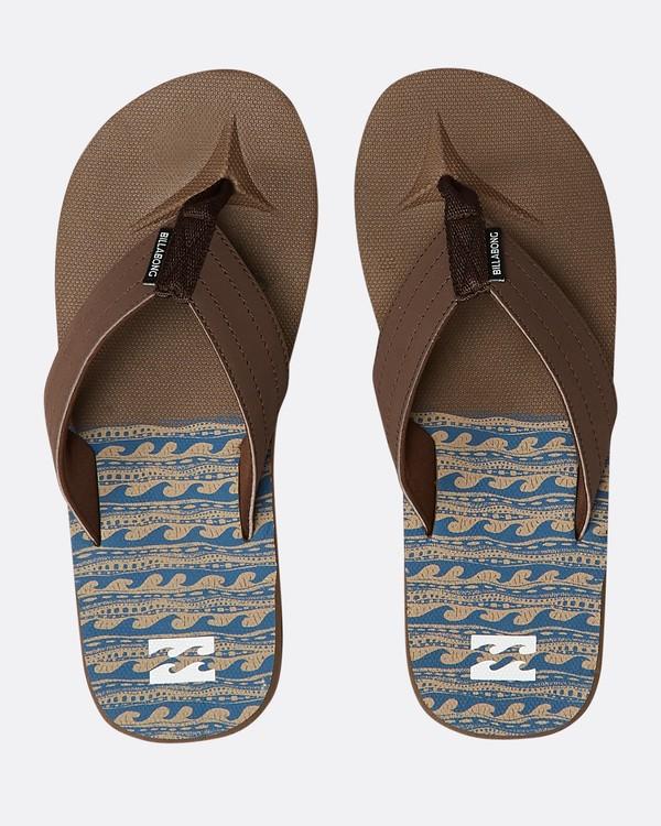0 All Day Theme Sandals Braun N5FF07BIP9 Billabong
