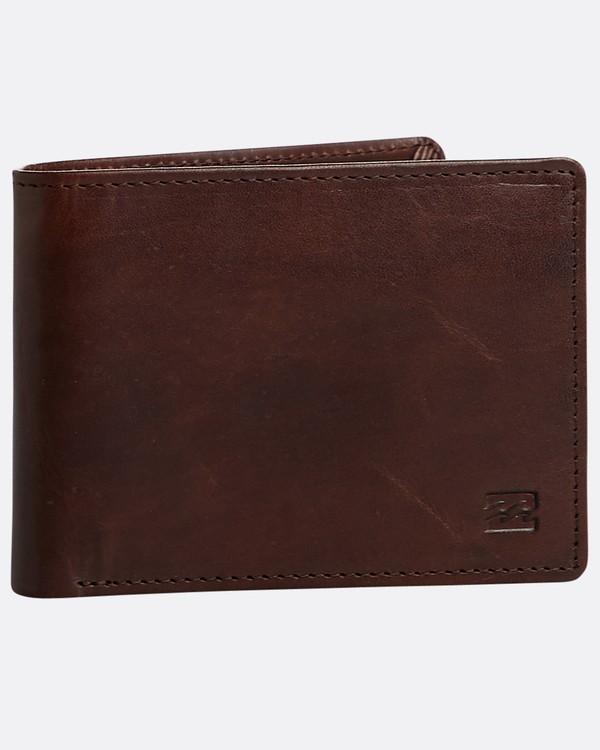 0 Vacant Leather - Leder-Brieftasche für Herren Braun N5LW02BIP9 Billabong