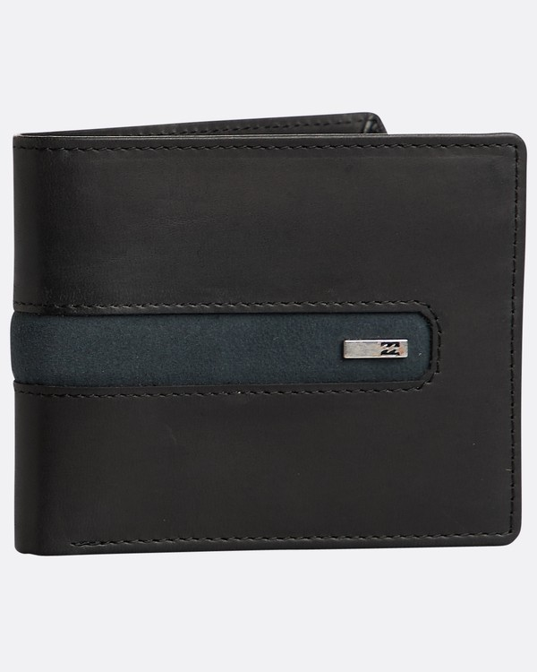 0 Dbah Leather Wallet Noir N5LW03BIP9 Billabong