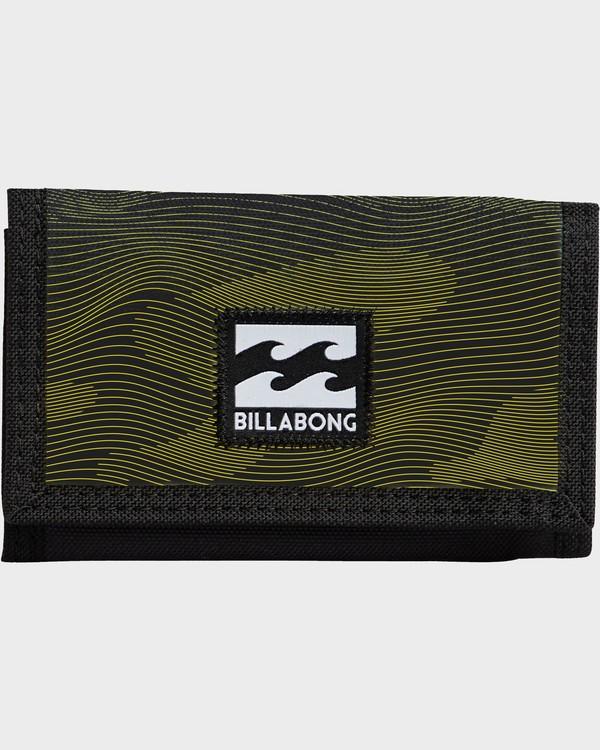 0 Atom Wallet Noir N5WL01BIP9 Billabong