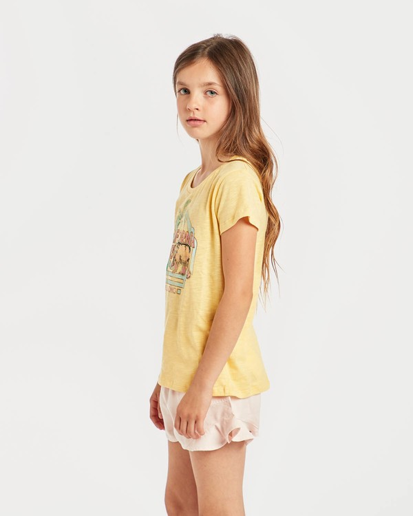 0 Girls' Moppet T-Shirt Amarillo N8SS02BIP9 Billabong
