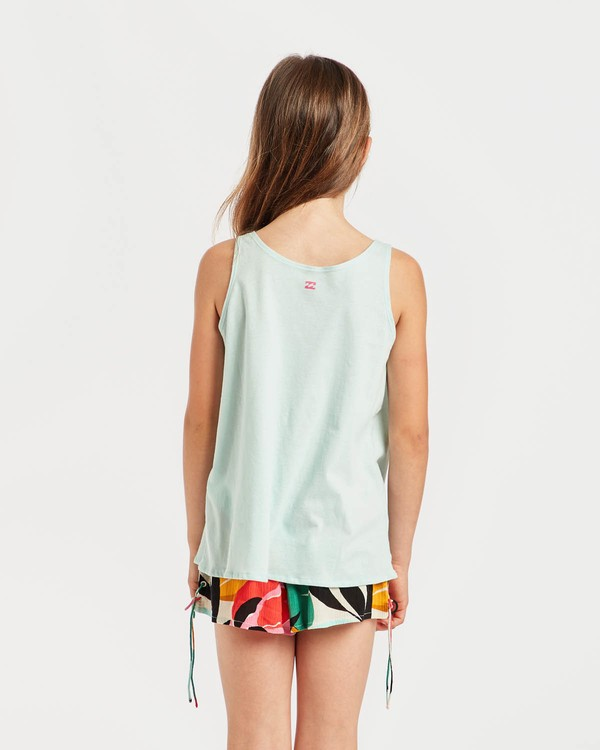 0 Girls' Billie Swing Tank Top Bleu N8TT01BIP9 Billabong