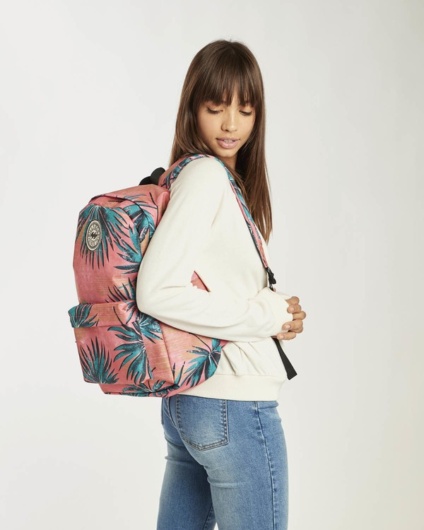 0 All Day Women Backpack Pink N9BP01BIP9 Billabong