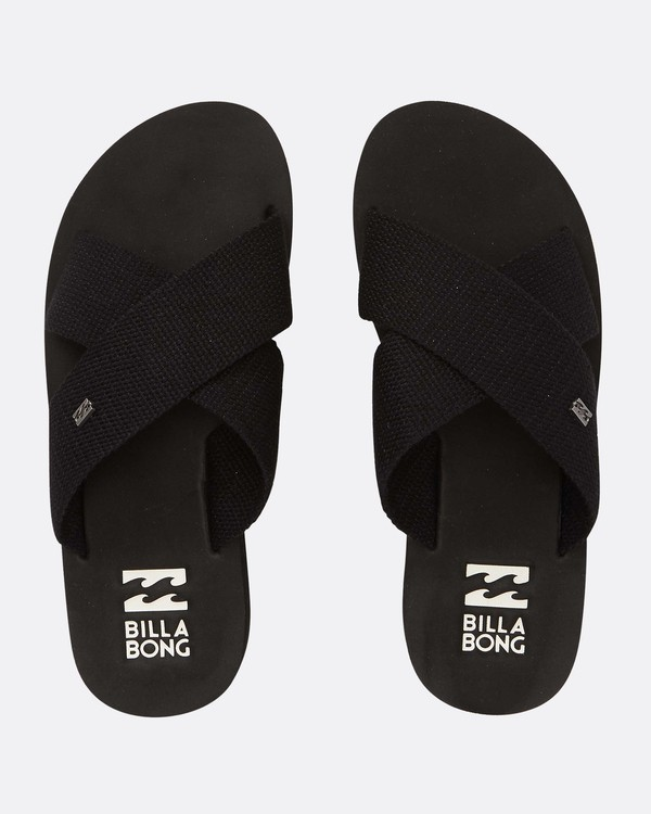 0 Boardwalk Sandals Black N9FF05BIP9 Billabong