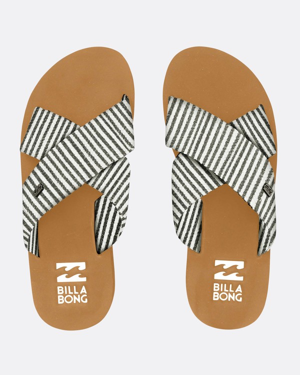 0 Boardwalk Criss Cross Sandals Schwarz N9FF05BIP9 Billabong
