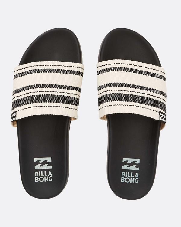 0 Surf Retreat Slide Sandals Black N9FF06BIP9 Billabong