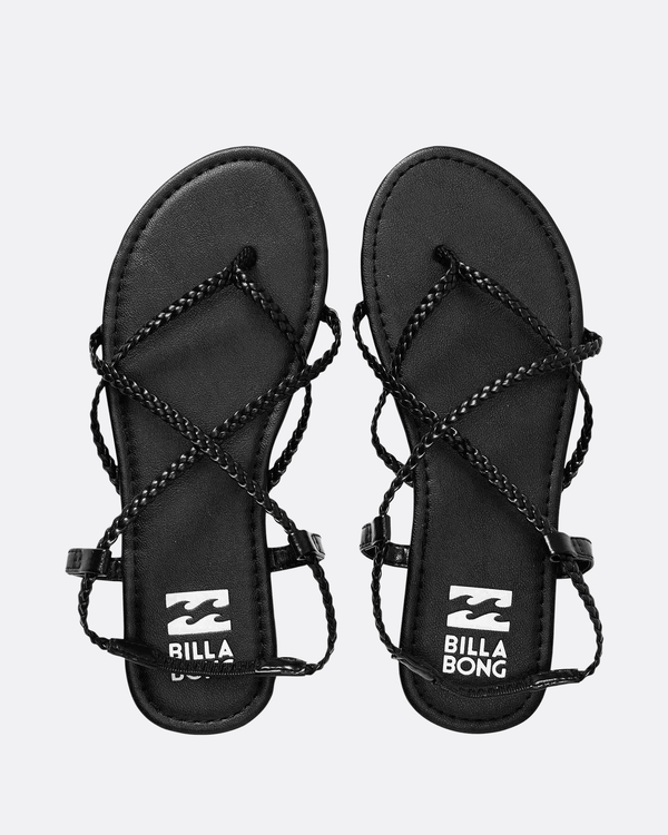0 Crossing Over 2 Strappy Sandals Noir N9FF09BIP9 Billabong