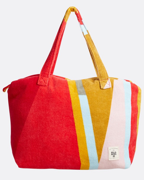 0 Chasing Paradise Oversized Beach Bag Red N9TV03BIP9 Billabong