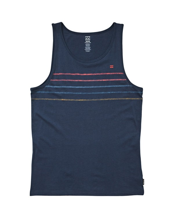 0 Spinner Tank Blue P1JE01BIS9 Billabong