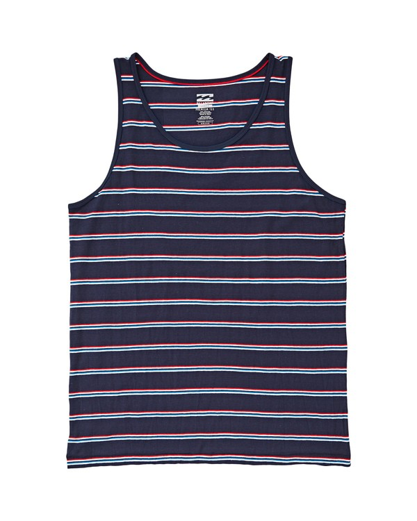 0 Die Cut Stripe Tank Blau P1JE02BIS9 Billabong