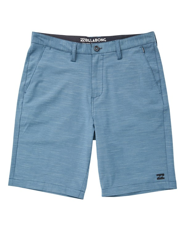 0 Crossfire X Slub Submersibles Shorts Blau P1WK01BIS9 Billabong