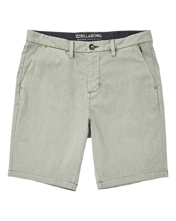 0 New Order X Ovd Submersibles Shorts Verde P1WK02BIS9 Billabong
