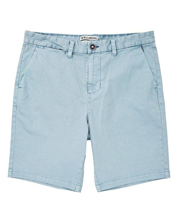 0 New Order Wave Wash Shorts Blue P1WK04BIS9 Billabong