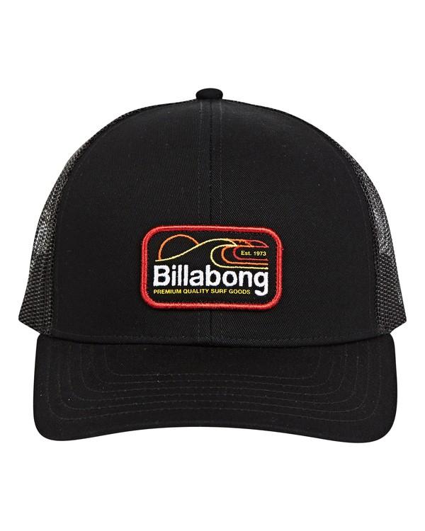 0 Walled Trucker Hat Negro P5CT01BIS9 Billabong