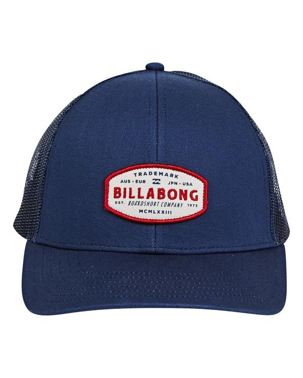 0 Walled Trucker Hat Blau P5CT01BIS9 Billabong