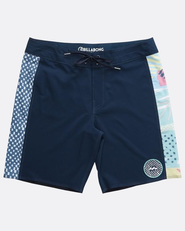 0 D Bah Pro - Boardshort para Hombre Azul Q1BS05BIF9 Billabong