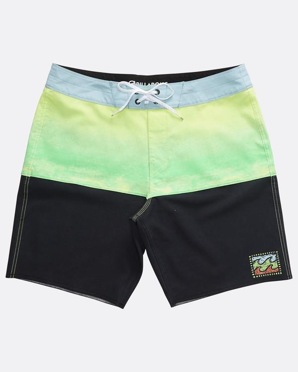 0 Fifty50 Fade Pro - Boardshort para Hombre Verde Q1BS07BIF9 Billabong