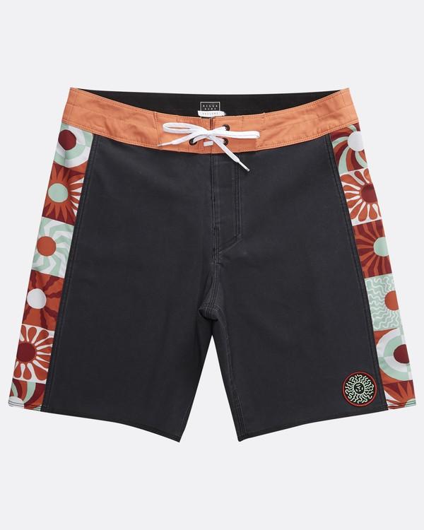 0 Dawn Patrol D Bah - Boardshorts für Männer Schwarz Q1BS11BIF9 Billabong