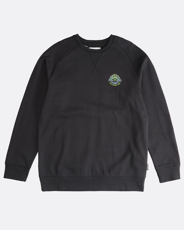 0 Iconic - Crew Pullover für Männer Schwarz Q1CR06BIF9 Billabong