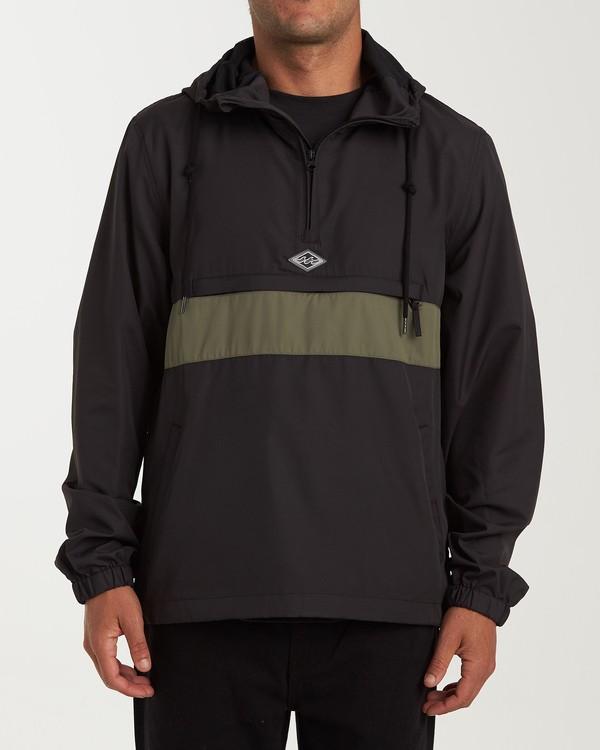 0 Wind Swell - Anorak Jacket for Men Black Q1JK01BIF9 Billabong
