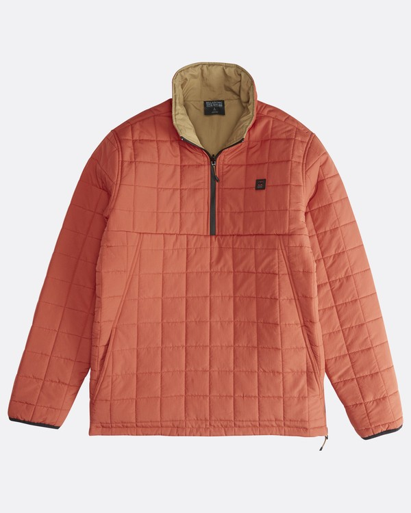 0 Boundary - Reversible Puffer Jacket for Men Multicolor Q1JK06BIF9 Billabong