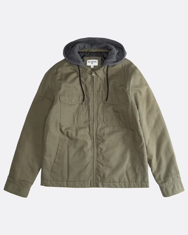 0 Barlow Twill - Jacket for Men  Q1JK09BIF9 Billabong