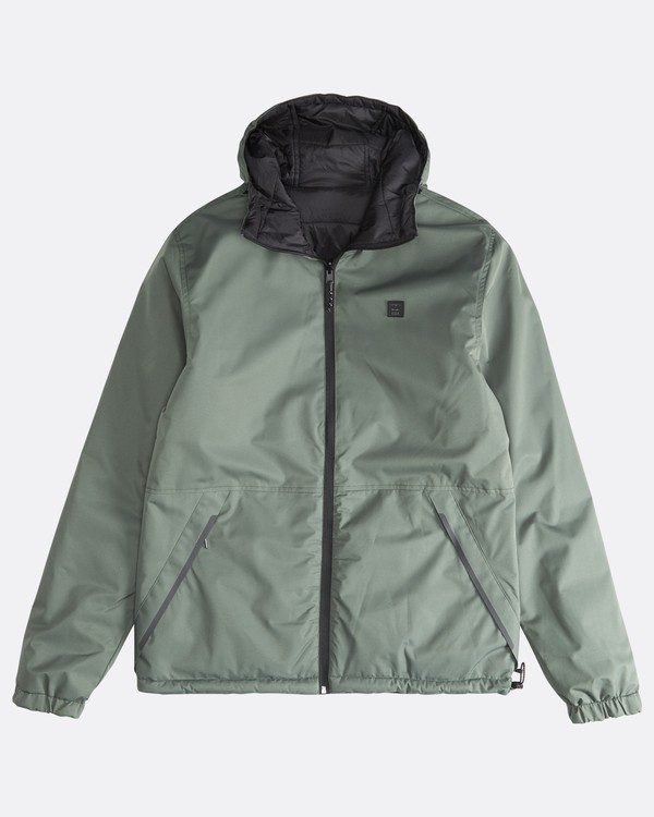 0 Transport Revo - 10K Jacket for Men Green Q1JK14BIF9 Billabong