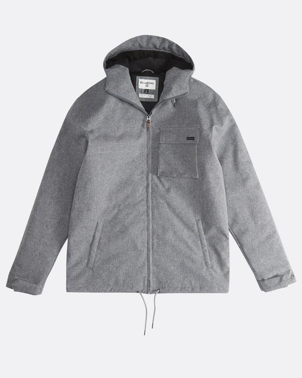 0 Matt - 10K Jacke für Männer Grau Q1JK18BIF9 Billabong