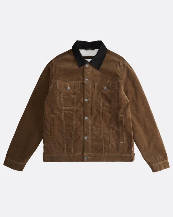 0 Barlow - Trucker Jacket for Men Brown Q1JK30BIF9 Billabong