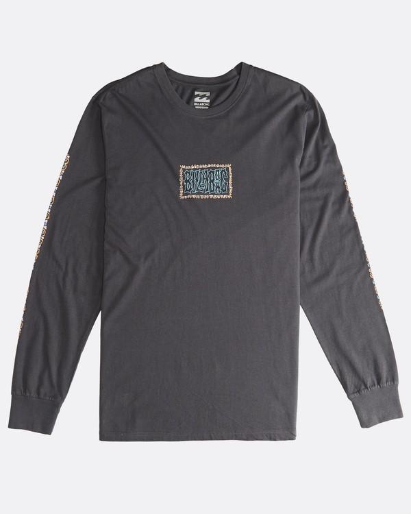 0 Heritage - Langärmeliges T-Shirt für Männer Schwarz Q1LS02BIF9 Billabong