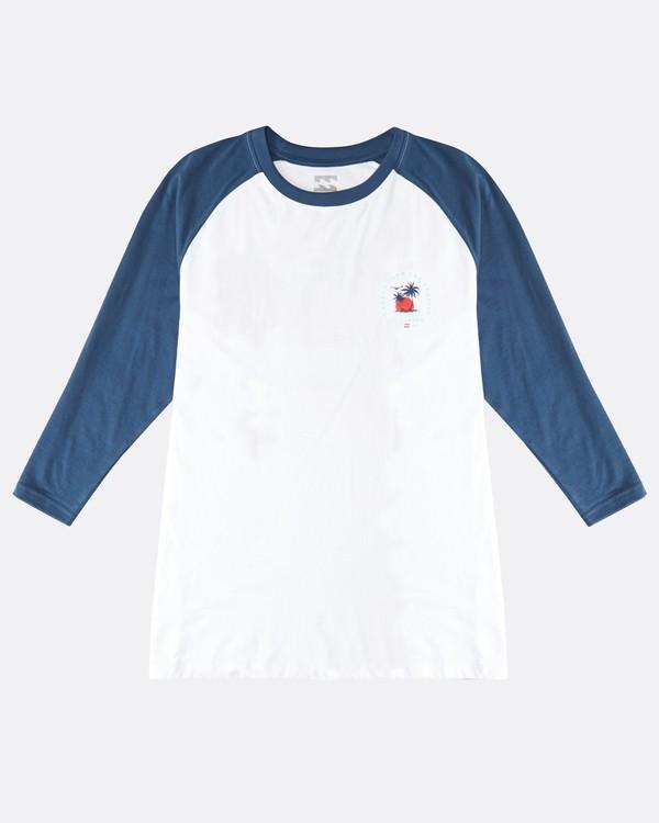 0 Bengal - Langärmeliges T-Shirt für Männer Blau Q1LS04BIF9 Billabong