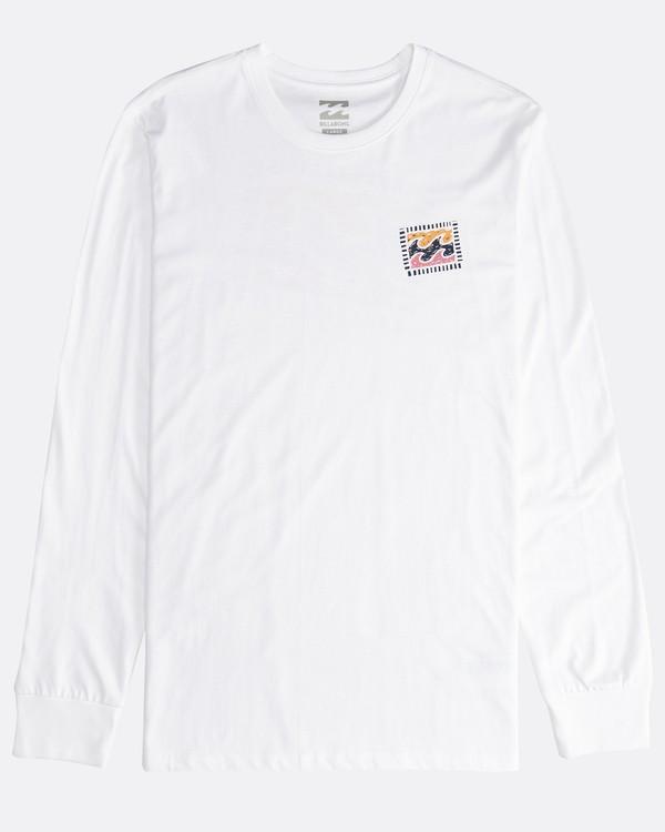 0 Iconic - Langärmeliges T-Shirt für Männer Weiss Q1LS08BIF9 Billabong